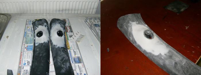 Muovikittiä a-pilariin